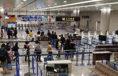 aeroporto - fila para embarque
