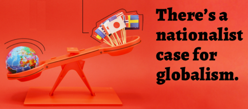 nacionalismo e globalismo na balança